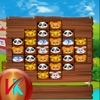 Animal Heroes Match 3 Puzzle