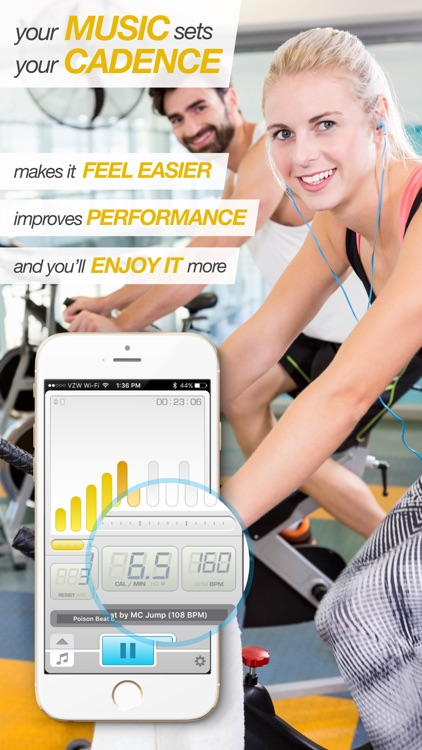 BeatBurn Indoor Cycling Trainer - Low Impact Cross Training for Runners and Weight Loss screenshot-3