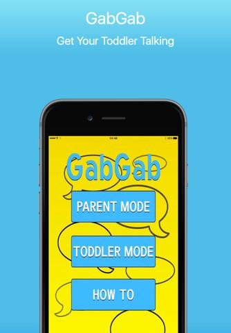 GabGab - Get Your Toddler Talking screenshot 1