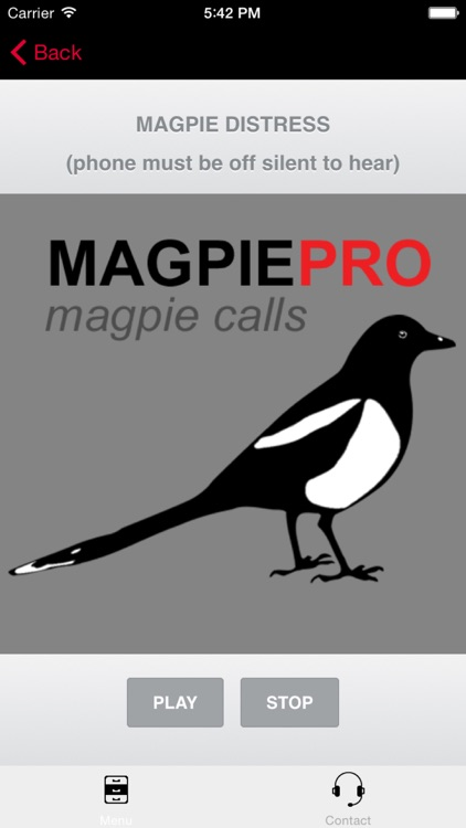 REAL Magpie Calls for Hunting & Magpie Sounds! - BLUETOOTH COMPATIBLE screenshot-0