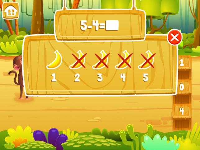 Matematica Giungla : Scuola Materna Di Matematica Screenshot