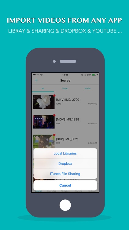 VideoMP3 - Convert Video To MP3(MP3 Extractor and Best Music Player) screenshot-2
