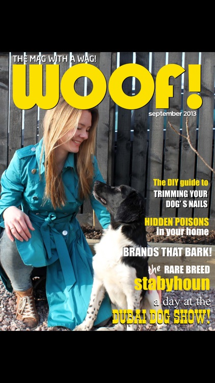 Woof! The Mag with a Wag!