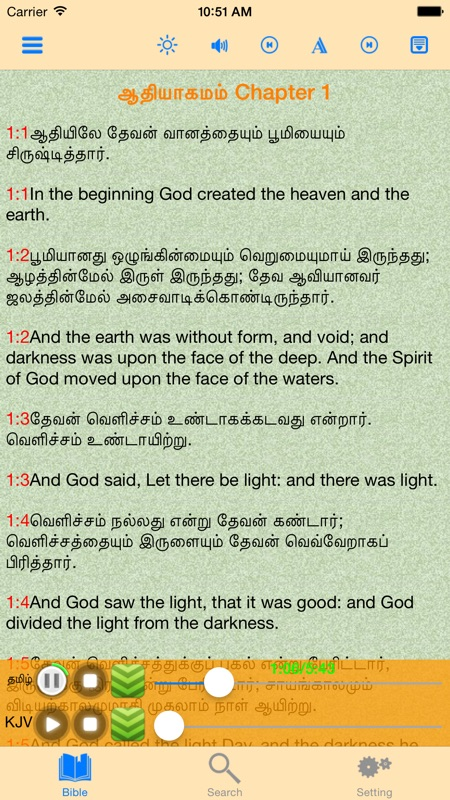 Tamil-English Bilingual Audio Holy Bible - Online Game Hack and
