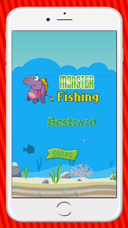 Monsters Fishing Ocean Games For Kids