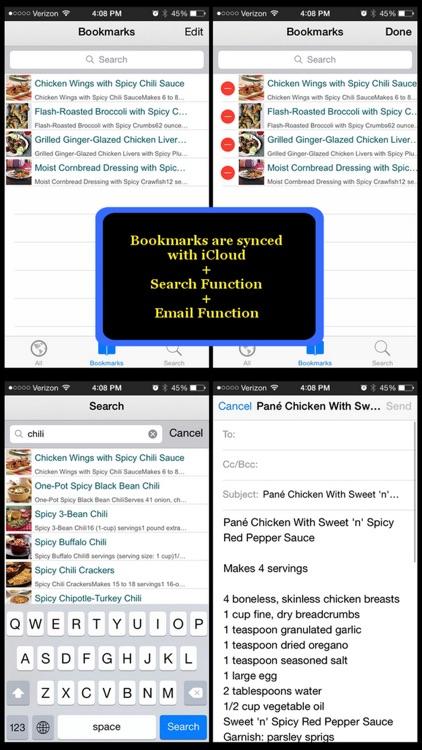 470 Spicy Recipes screenshot-4