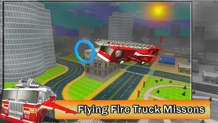 2016 Fire Truck Driving Academy – Flying Firefighter Training with Real Fire Brigade Sirens screenshot-3