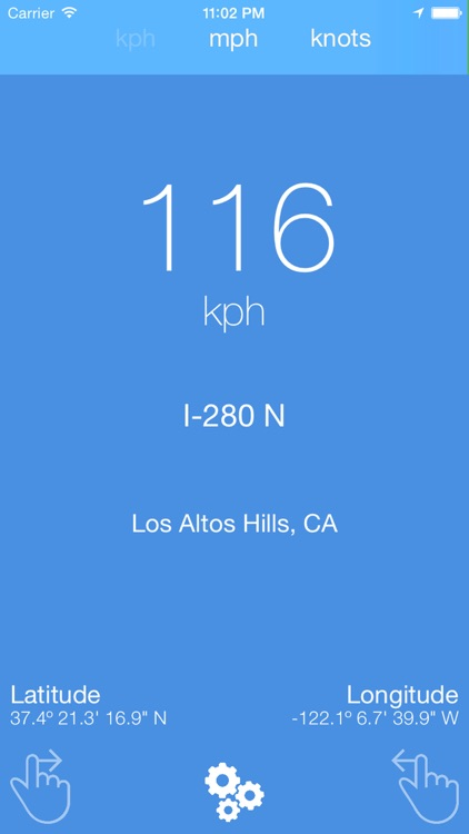 GPS Speedometer - GPS tracker and weather