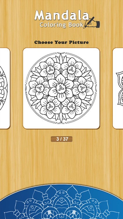 Coloring Book for Adults : Free Mandalas Adult Coloring Book & Anxiety Stress Relief Color Therapy Pages screenshot-4