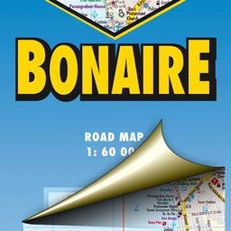 Bonaire. Road map