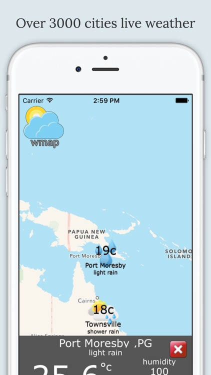 wmap - Weather Map