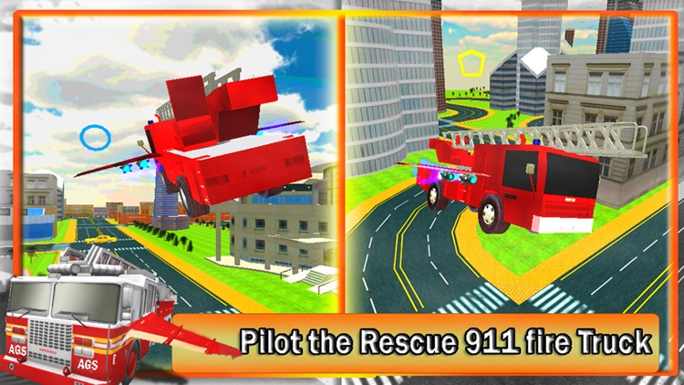 2016 Fire Truck Driving Academy – Flying Firefighter Training with Real Fire Brigade Sirens