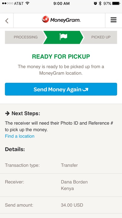 MoneyGram screenshot-2