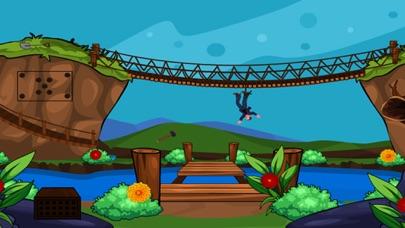 Escape From Suspension Bridge screenshot one