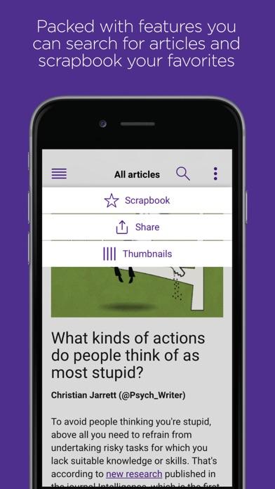Research Digest screenshot three