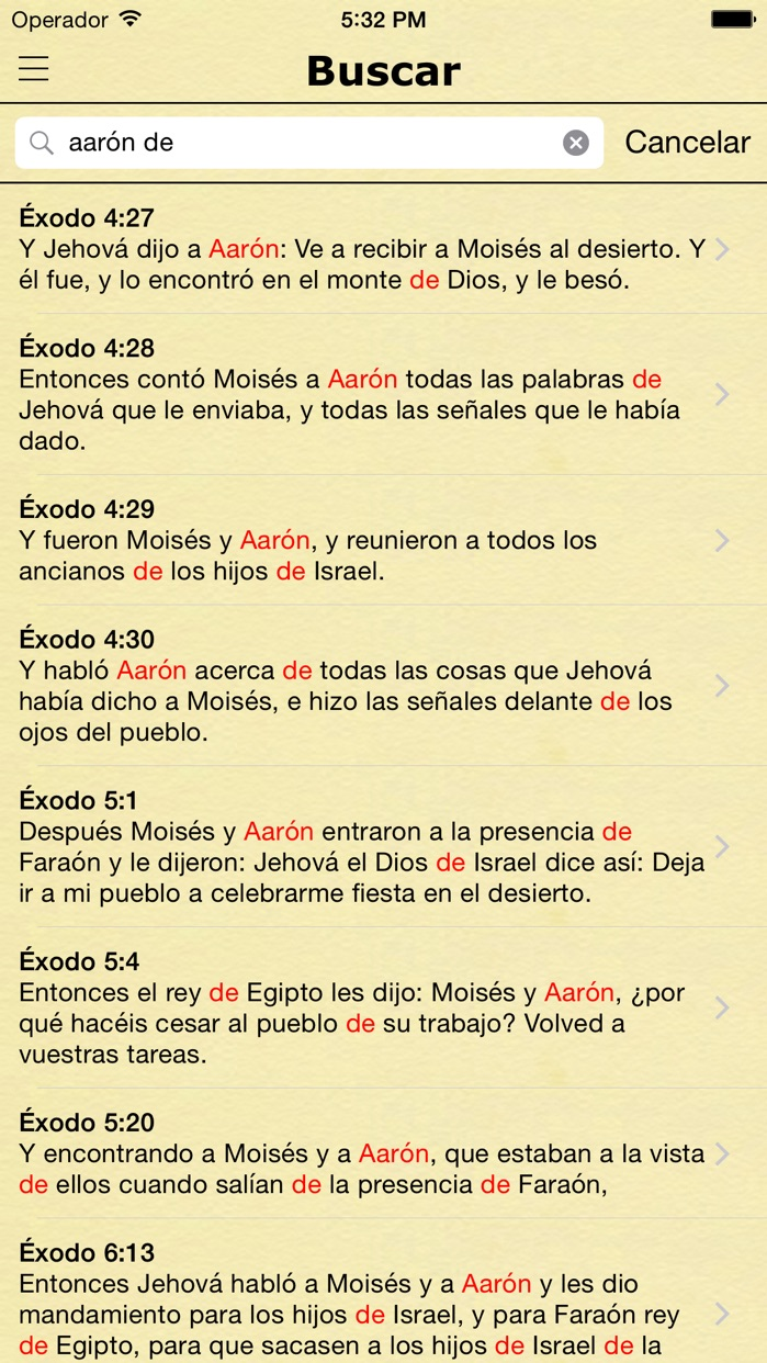 La Biblia Reina Valera en Español - Spanish Bible Screenshot