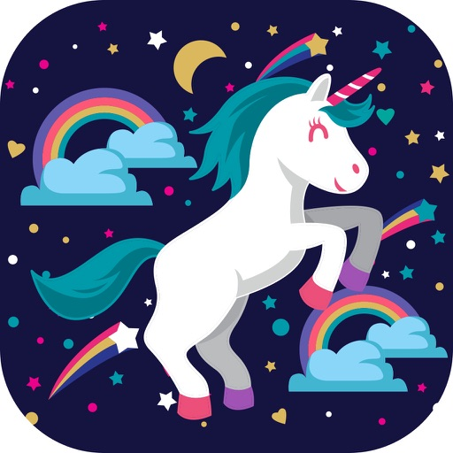 Unicorn Wallpaper Maker – Custom Fantasy Backgrounds and Magic Lock Screen Themes HD Free