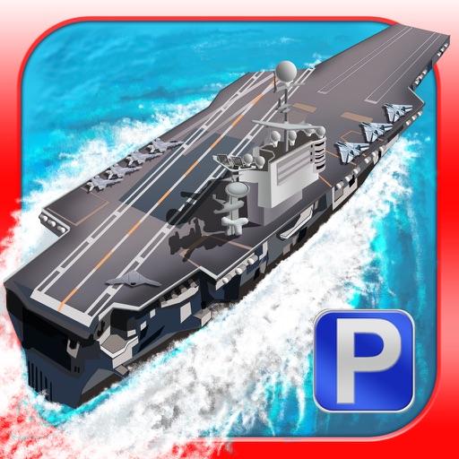 Park My Battleship - 3D Boat Parking and Driving School Simulator Ship Games