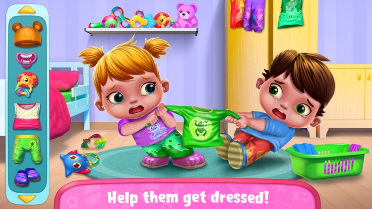 Baby Twins Babysitter screenshot-1