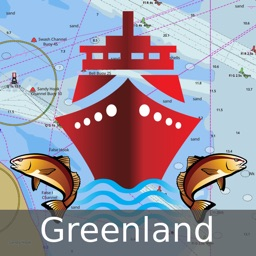 i-Boating :Greenland - Marine / Nautical Charts & Navigation Maps