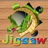 恐竜ドラゴンバトルジグソーパズルは、脳のトレーニングのための無料の子供のゲームをパズル