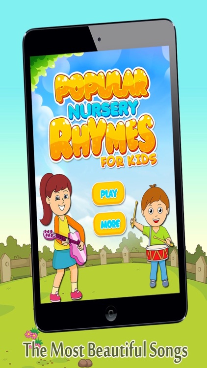 Popular Nursery Rhymes For Kids - Free Nursery Rhymes For Toddlers And Kids screenshot-3