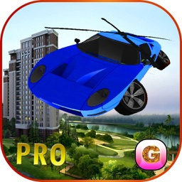 Flying Car Helicopter: Future Pro