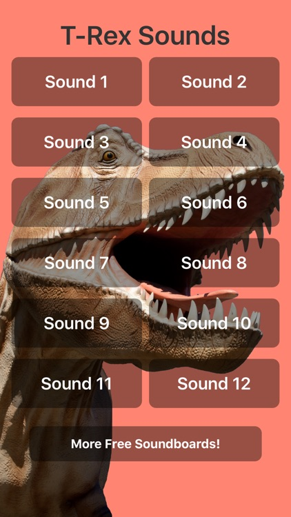 T-Rex Sounds by Leafgreen