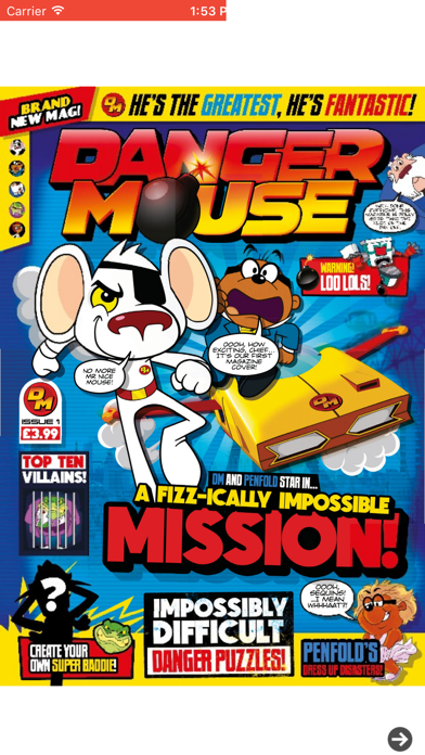 Danger Mouse Magazine screenshot one