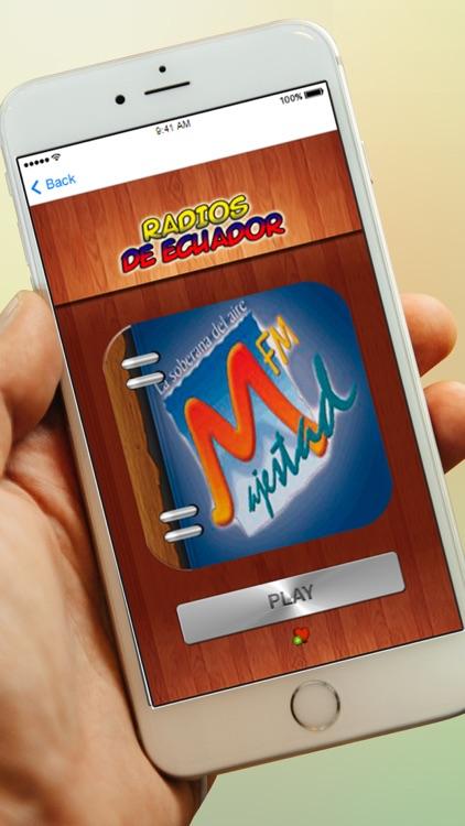 Radios de Ecuador Gratis En Vivo AM FM screenshot-3