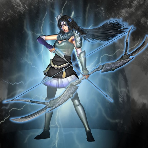 Archery Energy Woman - Battle Game