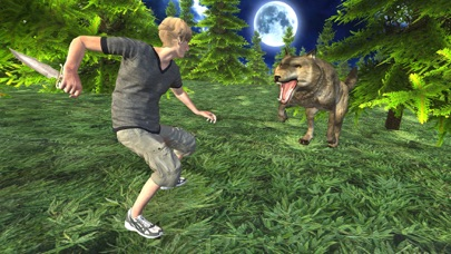 Wild Wolf Attack Adventure 3D - Wild  Beast wolf Revenge From Animals screenshot one