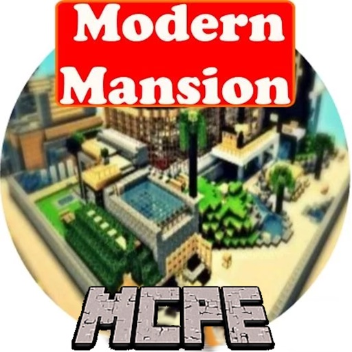 Modern Mansion MAPS For MINECRAFT PE Pocket Edition By Tyler - Maps fur minecraft pe ios