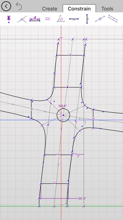 Updraw - create 2D CAD drawings with dimensions screenshot-3