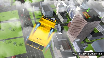 camión de la basura real de vuelo simulador 3D - La conducción de camiones de basura en laCaptura de pantalla de4