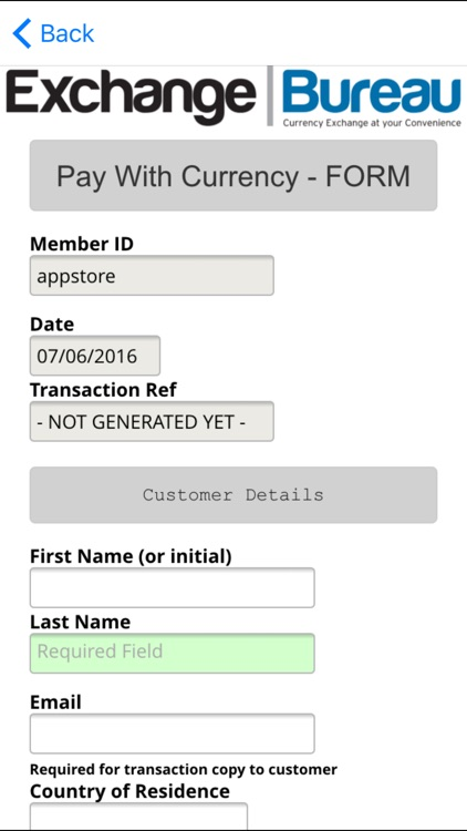 Pay With Currency screenshot-3