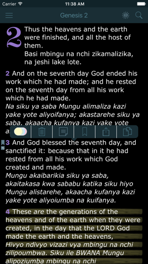 Swahili English Bilingual Bible Biblia Takatifu King James Bible Version On The App Store