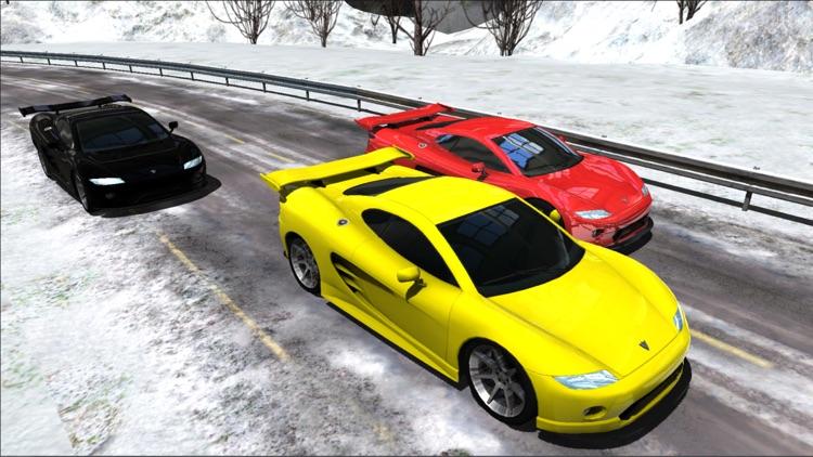Sports Cars Racing Winter PRO