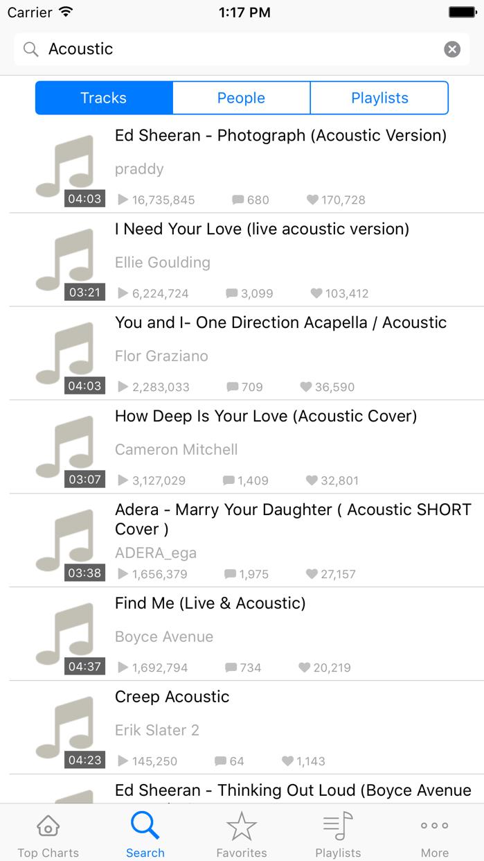 Music X - MP3 Streamer & Playlist Manager Pro Screenshot