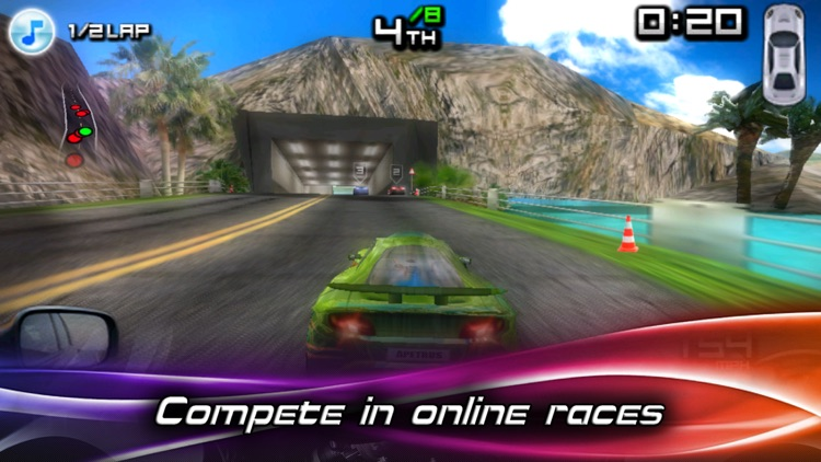 Race Illegal: High Speed 3D Free screenshot-3