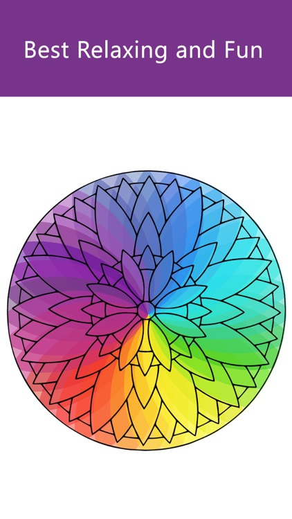 Mandala Coloring Book Paint Games For Adults and Girls Mandela Coloring Free Games For Grown Ups