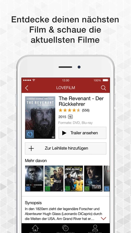 LOVEFiLM DVD & Blu-ray Verleih für iPhone screenshot-3