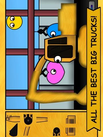 Игра Детские грузовички: Пазлы 2
