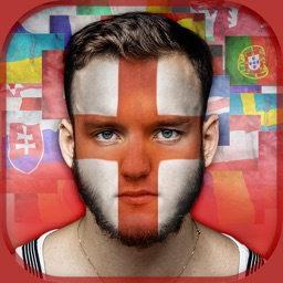 Flag On Face Photo Booth – Paint.ing & Morph.ing Pics In Colors Of Your Country