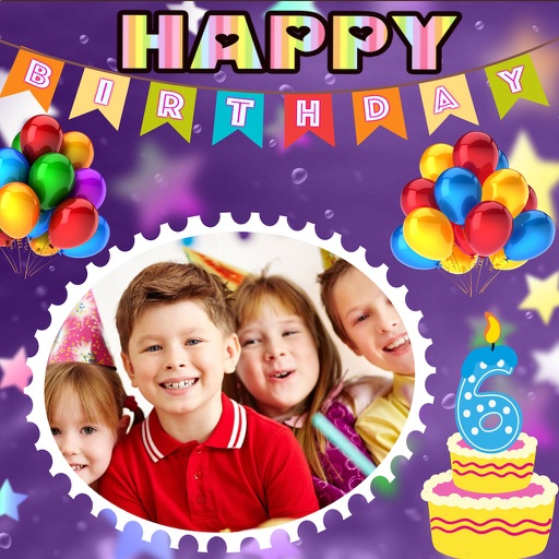 Birthday Photo Scrapbook icon