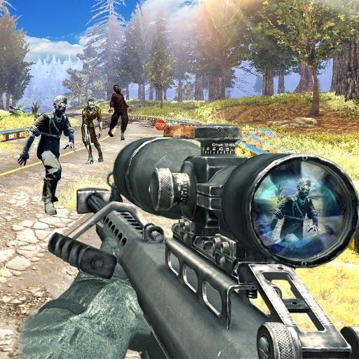 Zombie Tsunami Diary: Z war Sniper smasher