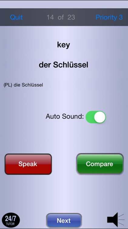 German FREE  24/7 Language Learning screenshot-4