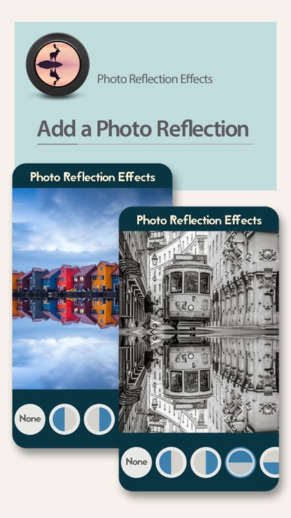 Photo Reflection Effects - Mirror & Water Effects Blender to Clone Yourself