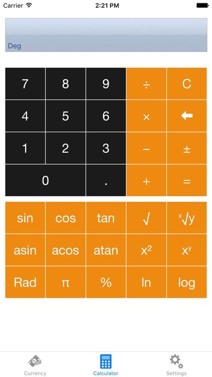iCurrency - Exchange rate converter screenshot-4