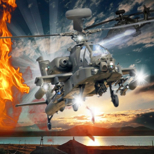 Burning In The Sky Helicopter - Magic War Strike Combat Fly In The Sky
